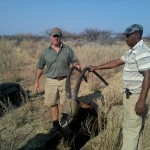 Sable Capture Namibia