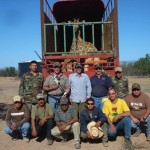 Giraffe Capture Crew Mexico