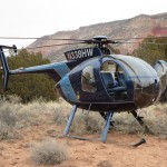MD500 on Net Gun Capture, New Mexico